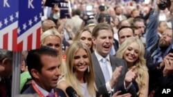 La convention républicaine 2016 à Cleveland.