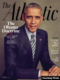 美国《大西洋月刊》(The Atlantic)四月份一期的封面