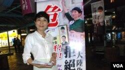 公民黨立法會選舉候選人毛孟靜認為,反國教浪潮有利泛民選情