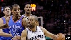 Tony Parker des San Antonio Spurs