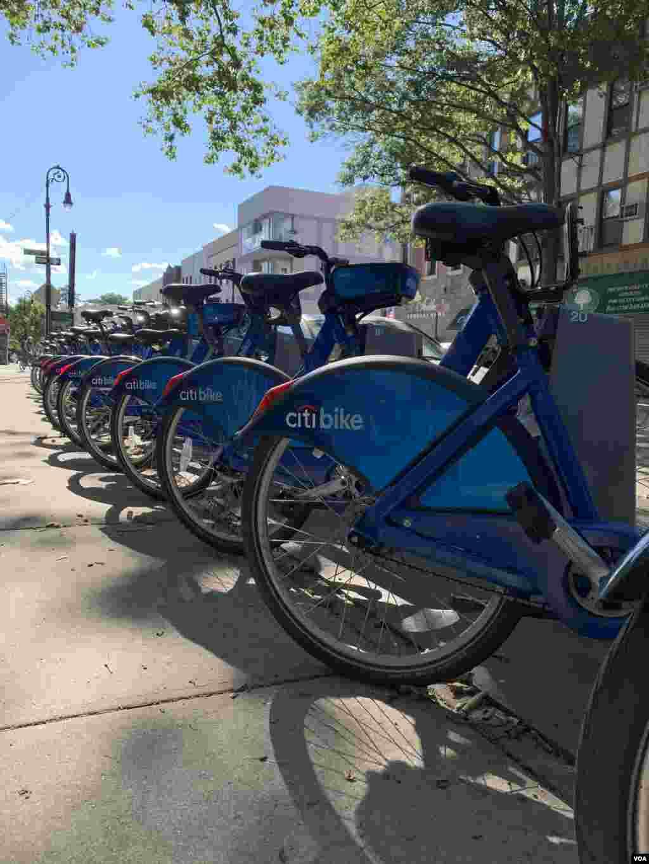 Nyu Yorkda gündəlik nəqliyyat vasitəsilərindən biri də velosipeddir