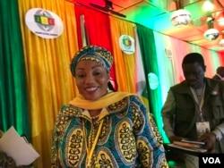 Zimbabwe Electoral Commission Chairperson Priscilla Chigumba. (C. Mavhunga/VOA)