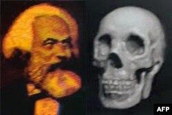 马克斯和骷髅双肖像