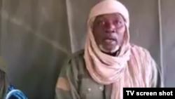 Le juge malien Soungalo Koné, enlevé à Niono, dans une vidéo partagée sur les réseaux sociaux.