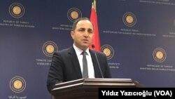 Dışişleri Bakanlığı Sözcüsü Tanju Bilgiç