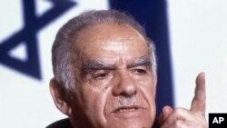Israeli Prime Minister,Yitzhak Shamir (1987 file photo)