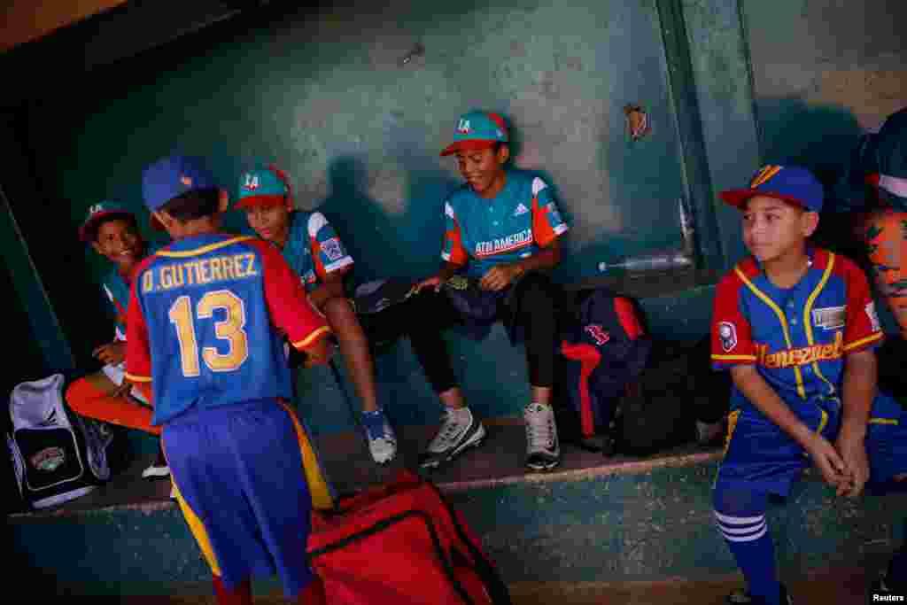 Venesuela - Uşaqların beysbol komandası