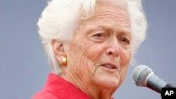 Barbara Bush, uwargidan tsohon shugaban Amurka George H.W. Bush