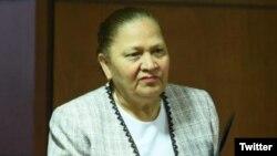 Maria Consuelo Porras Argueta, fiscal general y jefa del Ministerio Público de Guatemala. Foto: @emisorasunidas.