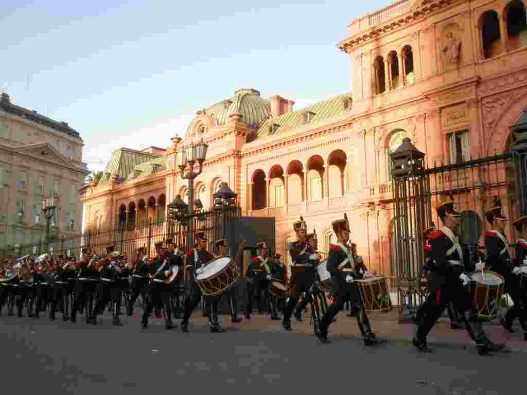 Ceremonia de la bandera