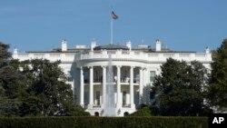 미국 워싱턴 DC의 백악관.