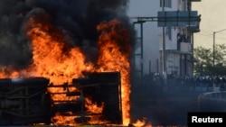 墨西哥州政府總部 被抗議者洗劫