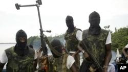 Grupo de militantes, Delta do Níger