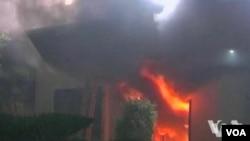 美國駐利比亞大使館遭襲擊後隨即加強所有美國駐外使領館的安全措施