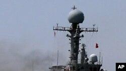 해상사격훈련장면(자료사진)
