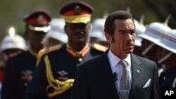 President Lt Gen. Seretse Khama Ian Khama
