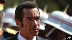 President Lt. Gen. Seretse Khama Ian Khama.