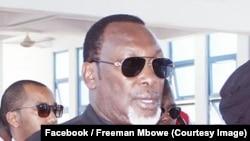 Mwenyekiti wa Chadema Freeman Mbowe