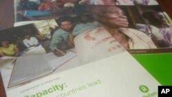 """Capacity: Helping Countries Lead"" ជារបាយការណ៍មួយក្នុងចំណោមរបាយការណ៍ស្រាវជ្រាវគោលនយោបាយចុងក្រោយបំផុតរបស់អង្គការអុកស្វាមអាមេរិក។"