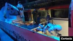 Aexa Aerospace trabaja en la preparación de astronautas que irán al espacio en un futuro cercano.