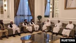 Tolibon delegatsiyasi Qatar poytaxti Doxada