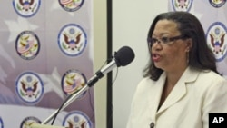 US Deputy Assistant Secretary of State for Africa Affairs, Susan Page (file photo)