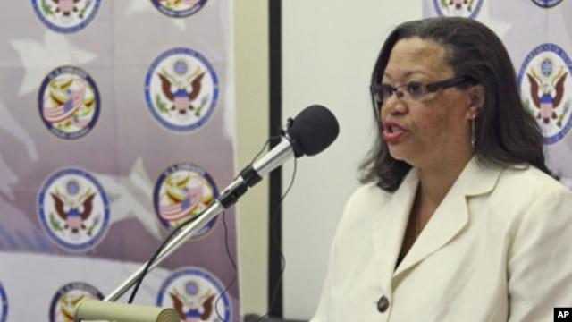 US Ambassador to South Sudan Susan Page (AP file photo)