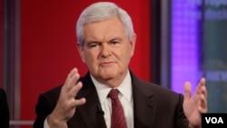 Newt Gingrich podría ofrecer su primer discurso como candidato oficial en la Convención del Partido Republicano, en Georgia.