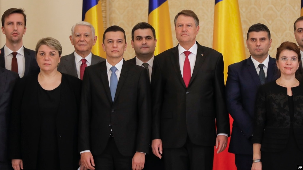 Romania's Parliament Approves Left-leaning Government