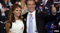 Gouvènè Schwarzenegger ak madanm li
