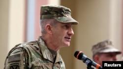 جان نیکولسن، فرماندۀ نیرو های ائتلاف بین المللی در افغانستان
