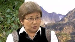 Roza Otunbayeva talks to the Voice of America, 12-13-12