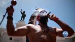 У Пуерто-Ріко закликають прибрати пам'ятники на честь іспанських колонізаторів. Відео