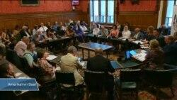 Filistinli Gazeteciler İngiliz Parlamentosunda