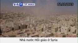 Nga không kích mục tiêu ở Syria do IS kiểm soát (VOA60)