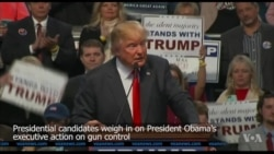 Candidates Speak Out on Gun Control