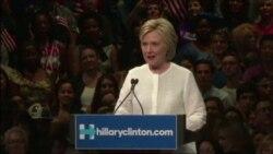 Клинтон выиграла праймериз в четырех штатах