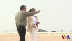 Melania Trump visite les pyramides de Gizeh (vidéo)