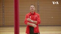 Українець готує американську збірну з гімнастики до Чемпіонату світу. Відео