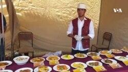نمایشگاه غذاهای کچالو دربامیان