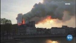 Incêndio na Catedral de Notre-Dame em Paris
