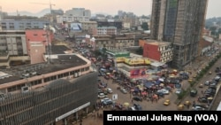 Vue de Yaoundé, au Cameroun, le 21 juin 2018. (VOA/Emmanuel Jules Ntap)