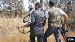 Бойцы Свободной армии Сирии (архивное фото)