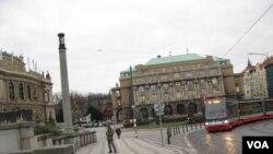 布拉格街頭(美國之音白樺)