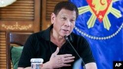 မွတ္တမ္းဓါတ္ပံု-ဖိလစ္ပိုင္သမၼတRodrigo Duterte (ၾသဂုတ္လ ၁၇ ရက္ေန႔)