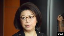 譚允芝 (VOA 湯惠芸攝)