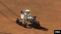 Rover Curiosity na Marsu