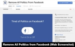 Remove All Politics from Facebook Extension