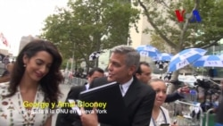 George Clooney habla sobre la paz en Colombia