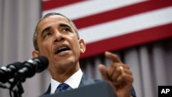 FILE - President Barack Obama, Aug. 5, 2015.